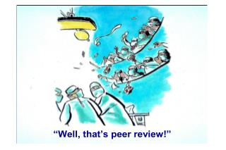 Who Are the Peer Reviewers?