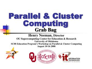 Parallel & Cluster Computing Grab Bag