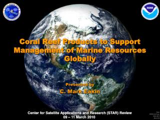 Coral Reef Products to Support Management of Marine Resources Globally