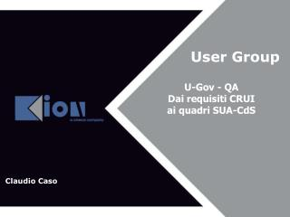 User Group