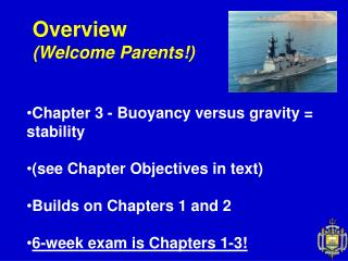Overview (Welcome Parents!)