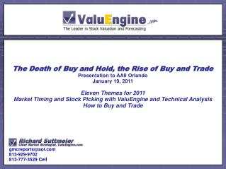 The Death of Buy and Hold, the Rise of Buy and Trade