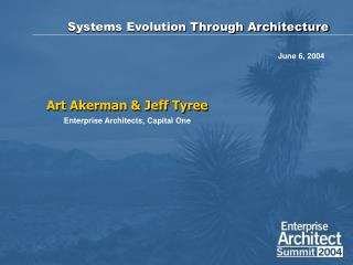 Systems Evolution Through Architecture