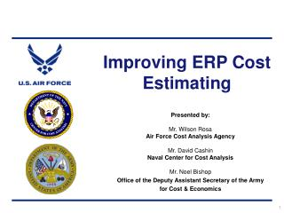 Improving ERP Cost Estimating