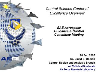 Control Science Center of Excellence Overview