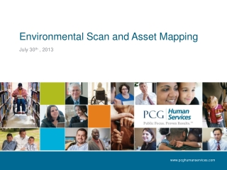 Environ me ntal Scan and Asset Mapping