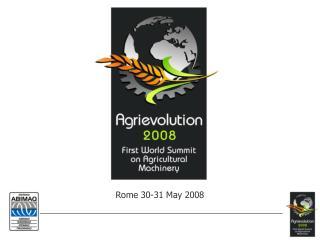Rome 30-31 May 2008