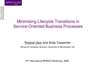 Minimising Lifecycle Transitions in Service-Oriented Business Processes