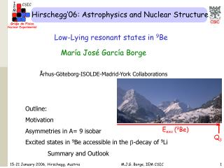 Hirschegg'06: Astrophysics and Nuclear Structure