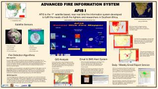 ADVANCED FIRE INFORMATION SYSTEM AFIS I