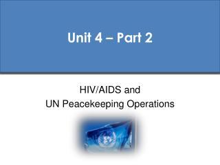 Unit 4 – Part 2