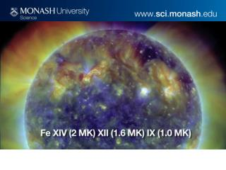 Prof Paul Cally Professor of Solar Physics Centre for Stellar & Planetary Astrophysics