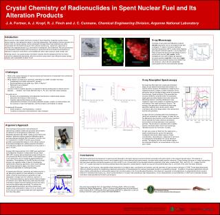 Crystal Chemistry of Radionuclides in Spent Nuclear Fuel and Its Alteration Products