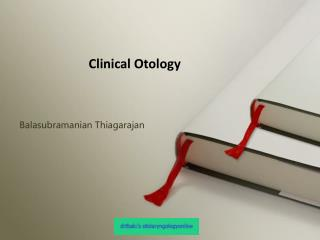 Clinical Otology