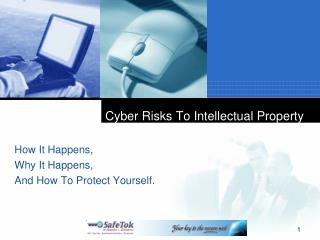 Cyber Risks To Intellectual Property