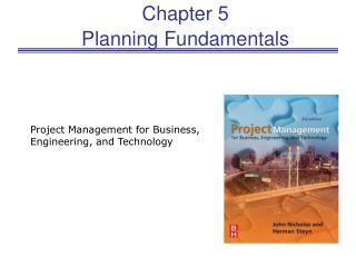 Chapter 5 Planning Fundamentals