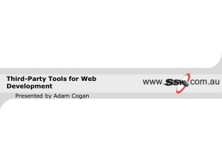 Third-Party Tools for Web Development