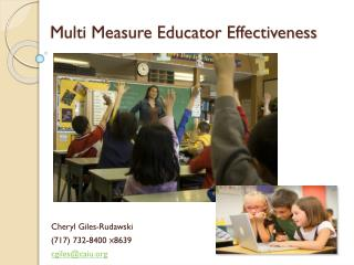 Multi Measure Educator Effectiveness