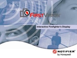 Interactive Firefighter's Display