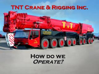 TNT Crane & Rigging Inc.