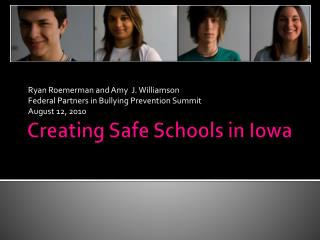 Creating Safe Schools in Iowa