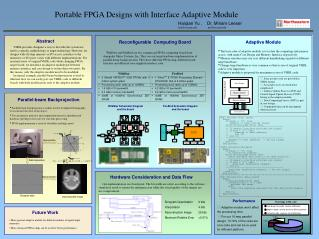 Portable FPGA Designs with Interface Adaptive Module