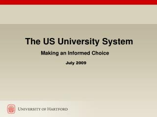 Higher Education: Making an Informed Choice A Consideration of ...