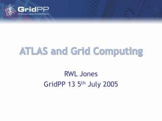 ATLAS and Grid Computing