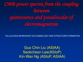 CMB power spectra from the coupling between quintessence and pseudoscalar of electromagnetism