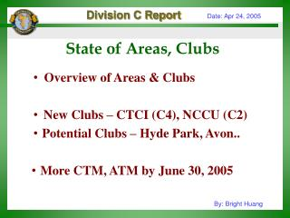 State of Areas, Clubs