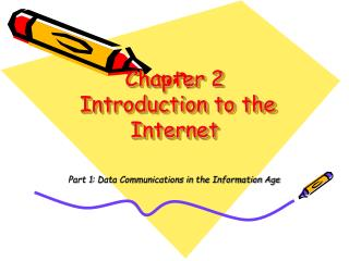 Chapter 2  Introduction to the Internet