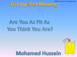Get Up-Get Moving