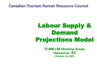 Canadian Tourism Human Resource Council