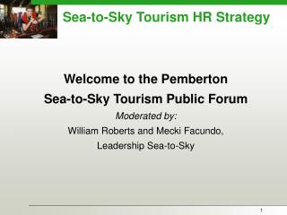 Sea-to-Sky Tourism HR Strategy