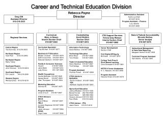 Career and Technical Education Division