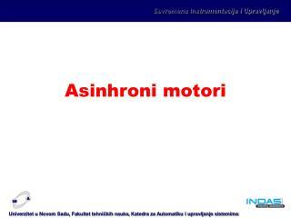 Asinhroni motori