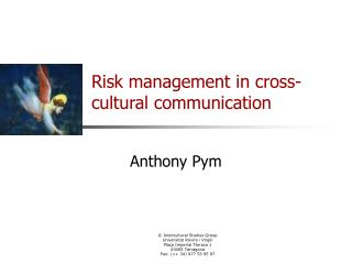 Risk management in cross-cultural communication