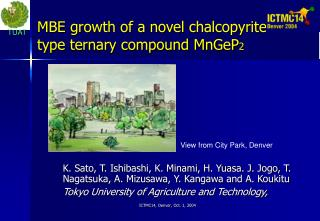 MBE growth of a novel chalcopyrite-type ternary compound MnGeP 2