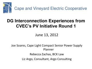 Cape and Vineyard Electric Cooperative