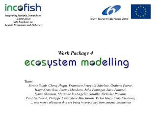 Integrating Multiple Demands on Coastal Zones with Emphasis on Aquatic Ecosystems and Fisheries