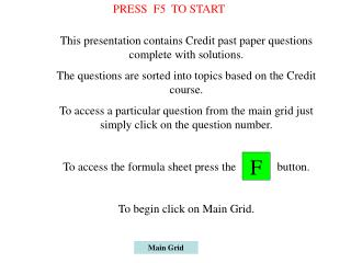 PPT - Main Grid PowerPoint Presentation - ID:4013102
