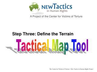 Tactical Map Tool