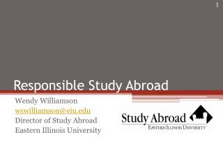 Responsible Study Abroad