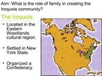 The Iroquois: