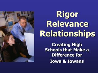 Rigor Relevance Relationships