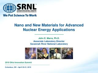Nano and New Materials for Advanced Nuclear Energy Applications