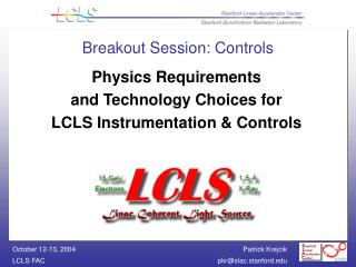 Breakout Session: Controls