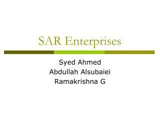 SAR Enterprises