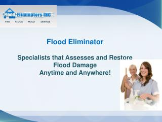 Flood Eliminator.Inc- new york water damage cleanup