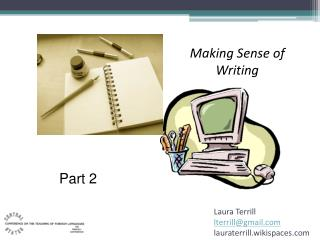 Making Sense of Writing